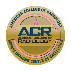 ACR Breast Imaging Center of Excellence Logo