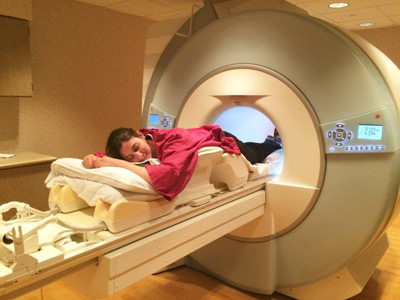 Breast MRI with Patient